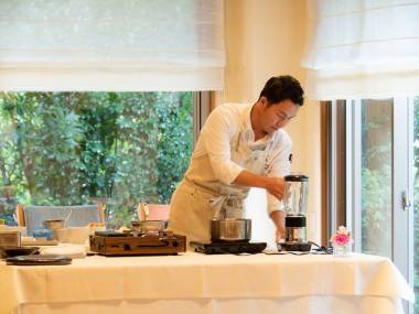 Preparing chef