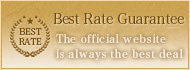 Best Rate Guarantee The official website is always the best deal